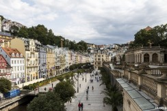 Historical Buildings in Karlovy Vary, Carlsbad